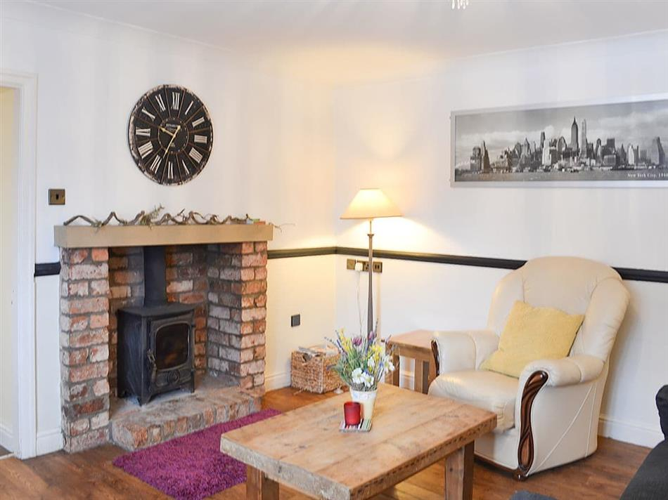 Living room in Brewers Cottage, Cropton, near Pickering