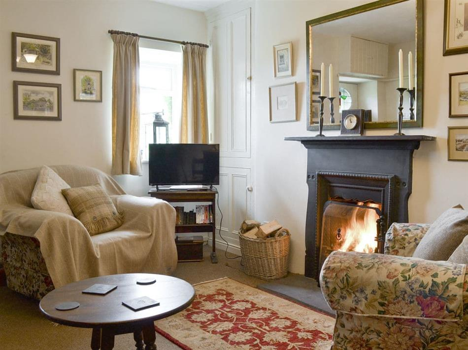 Living room in Bryn Tirion, Trefor, Anglesey