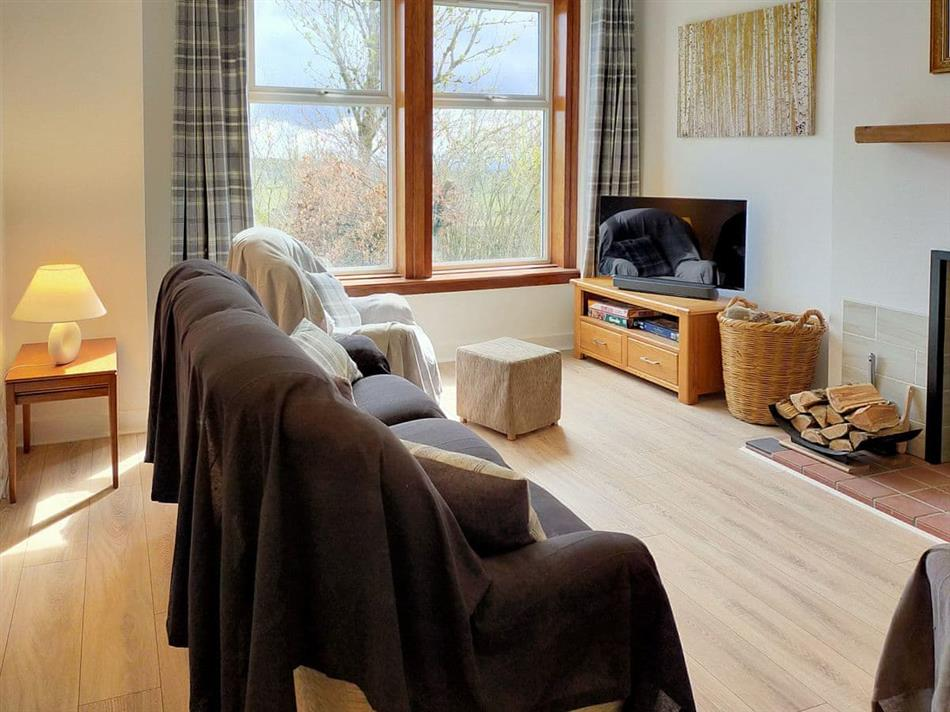 Living room in Buckieburn, Carron Bridge near Stirling
