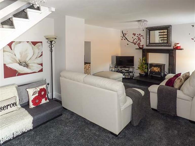 Living room in Bwthyn Y Nant, Nant Peris near Llanberis