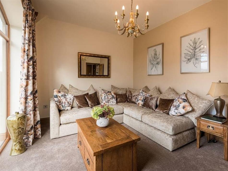 Living room in Cedar Barn,