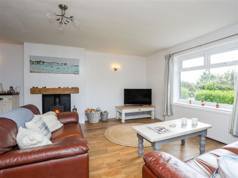 Living room in Church Gate Cottage, Llanfaes near Beaumaris