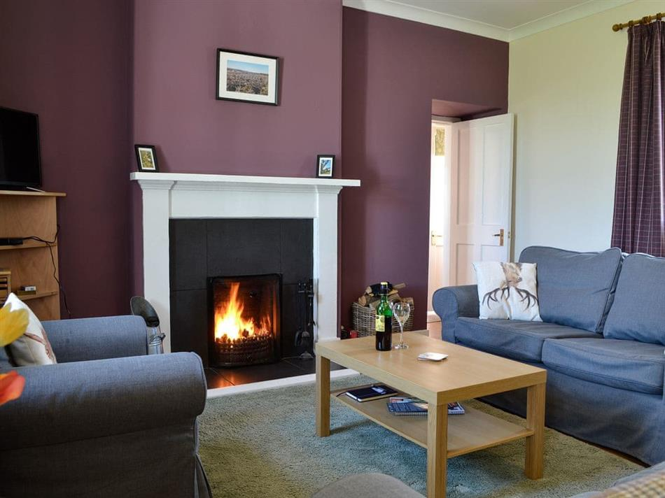 Living room in Clayhills Cottage, Blairgowrie