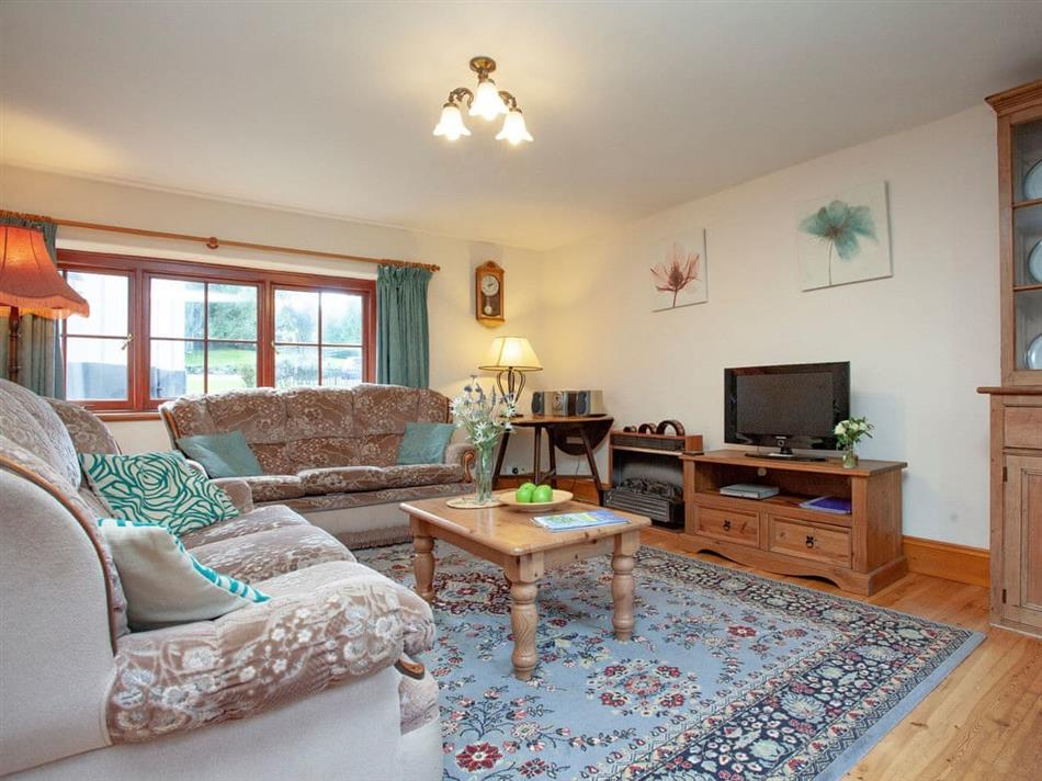 Living room in Coachman's lodge,