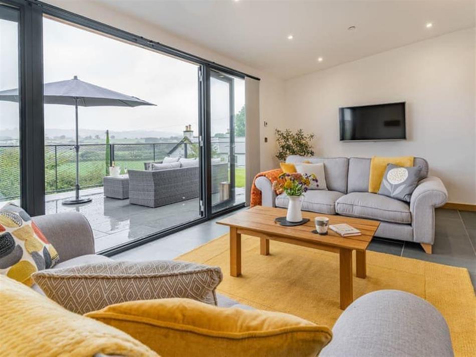 Living room in Cwtch Ty Gwyn, Llandeilo
