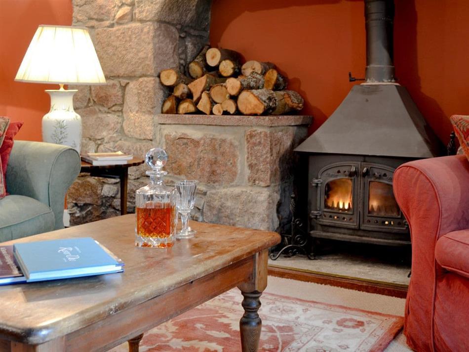 Living room in Deer Park Cottage,
