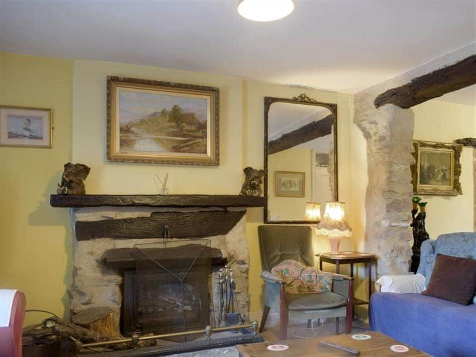 Living room in Doward Farm, Whitchurch