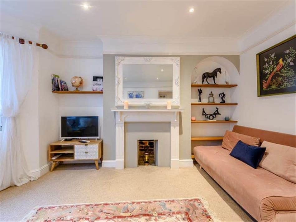 Living room in East Beach Retreat, Littlehampton, near Arundel