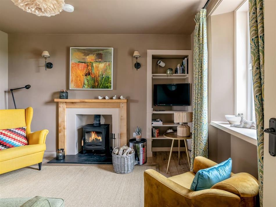 Living room in East Kilblean Cottage, Kilblean, near Old Meldrum