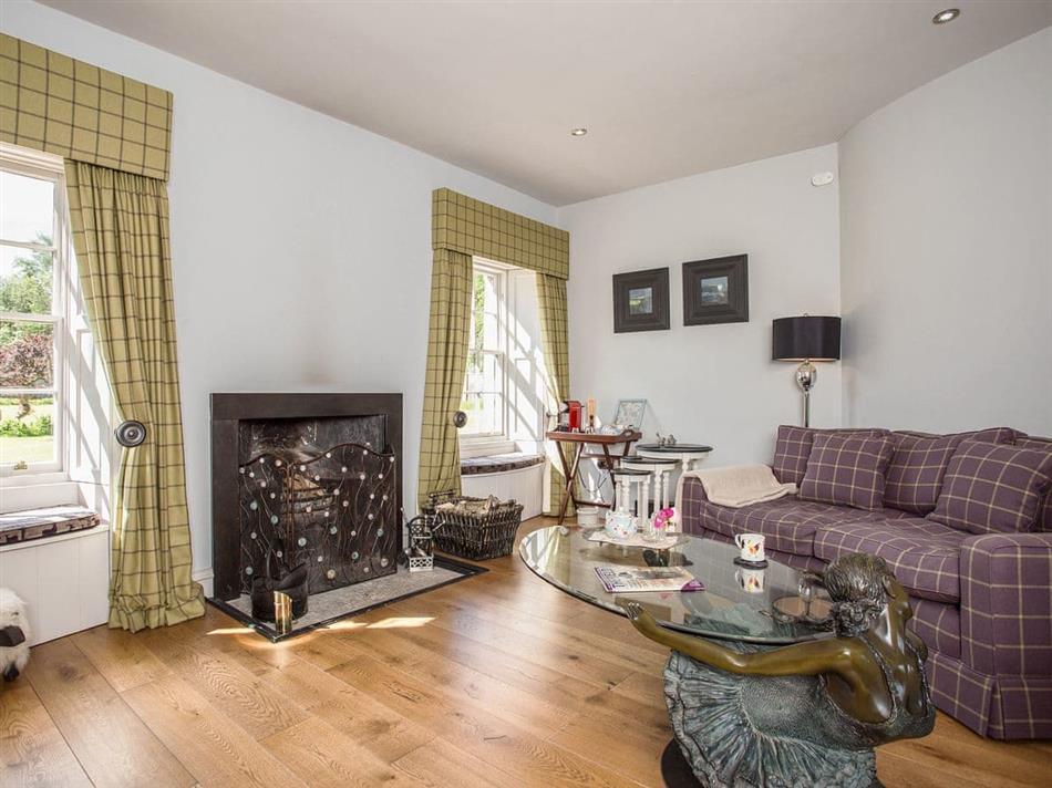 Living room in Fasque Castle Cottages - Garden Rooms, Fettercairn, near Laurencekirk