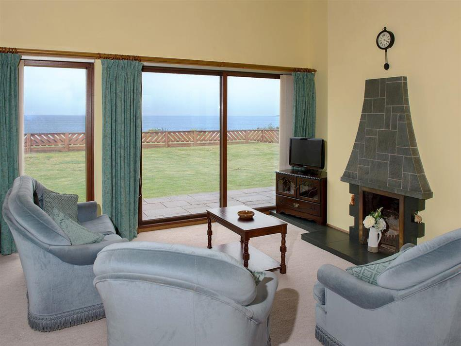 Living room in Fourwinds, Drummore near Stranraer