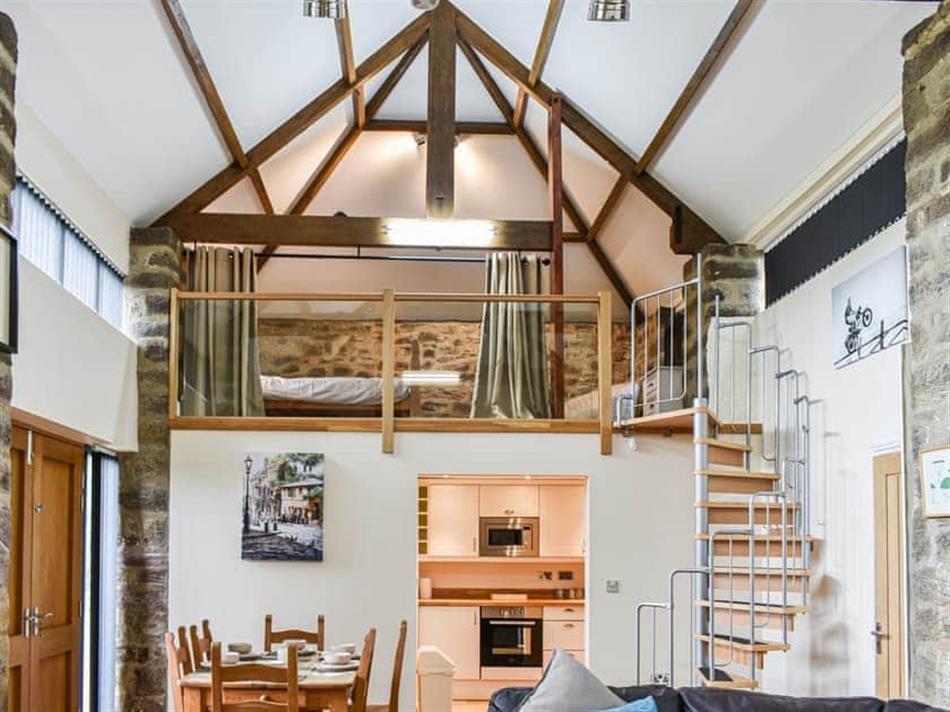 Living room in Fowler Studio, Bishop Auckland