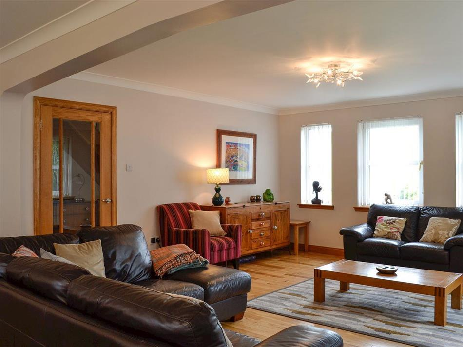 Living room in Glencroft, Portpatrick, near Stranraer, Dumfries and Galloway