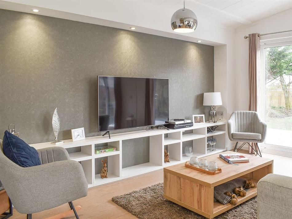 Living room in Greenhills, Landford, near Salisbury