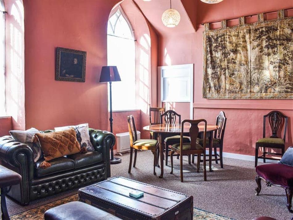 Living room in Hayfield, Delgaty, near Turriff
