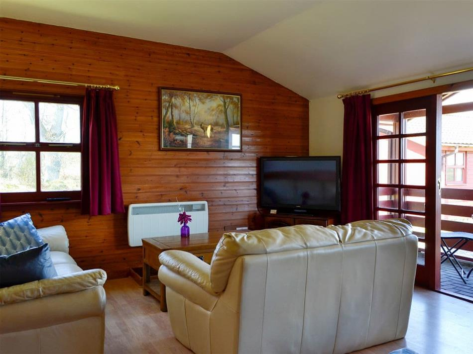 Living room in Heather, Forfar