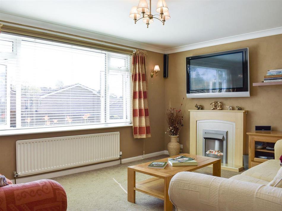 Living room in Henbury, Corfe Mullen, near Wimborne