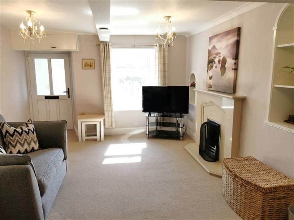 Living room in Hillside Farm Cottage, Allithwaite, near Cartmel