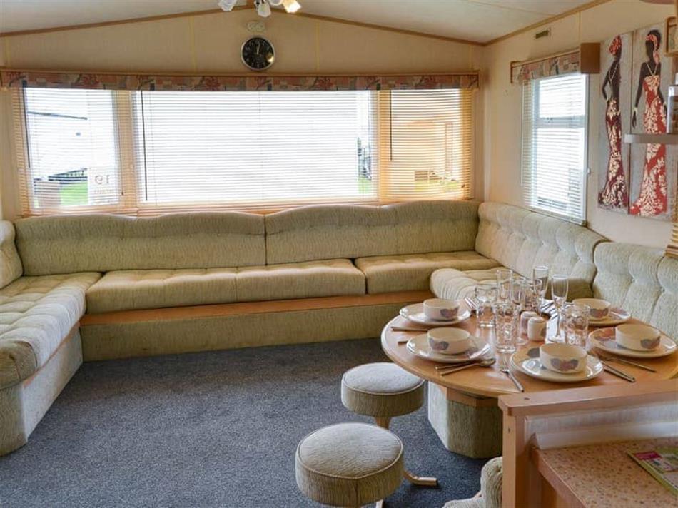 Living room in Ice Cream-Van, Scratby