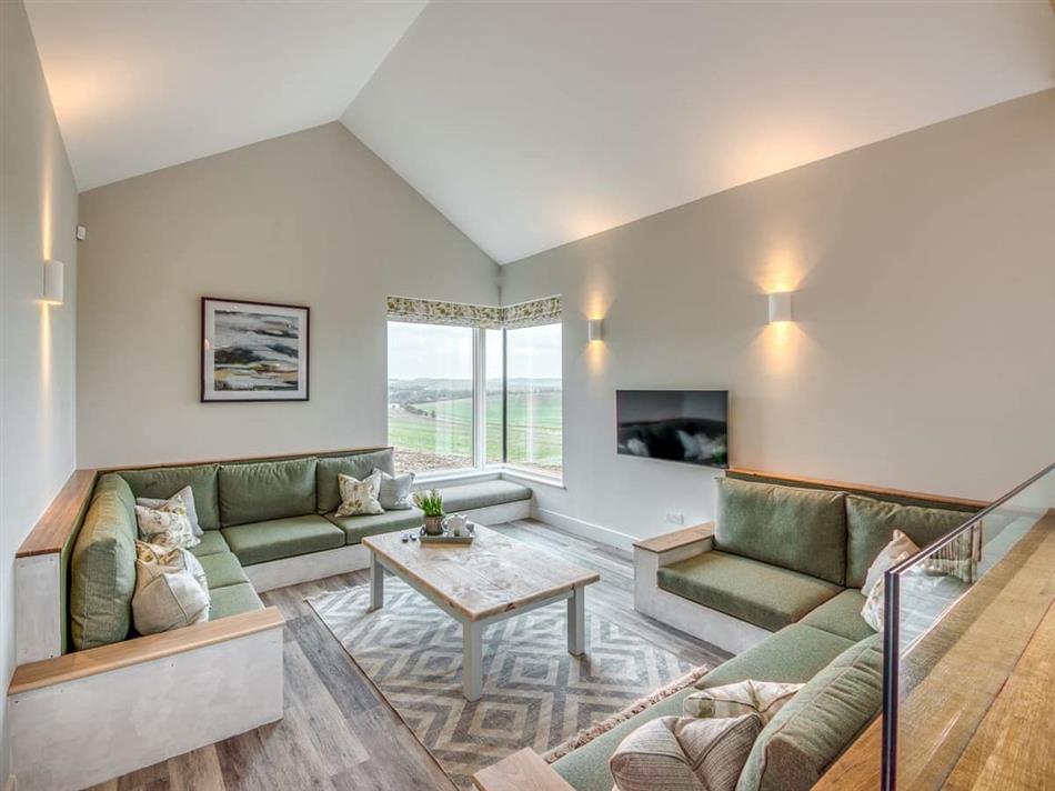 Living room in Ilsley Farm Barns- The Downs, East Ilsley, near Newbury