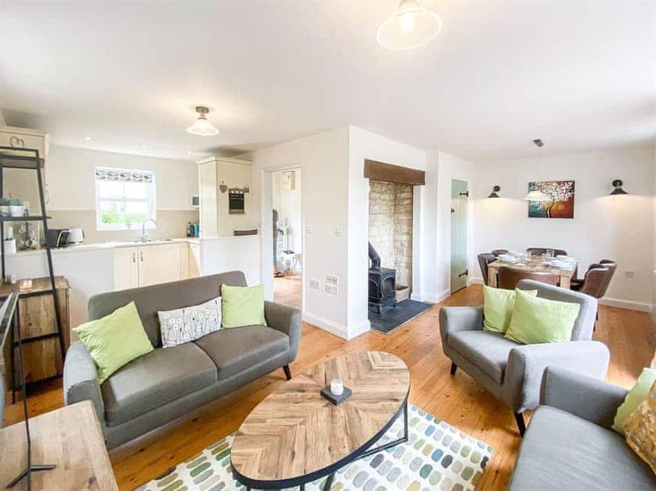 Living room in Jacobs Cottage, South Cerney