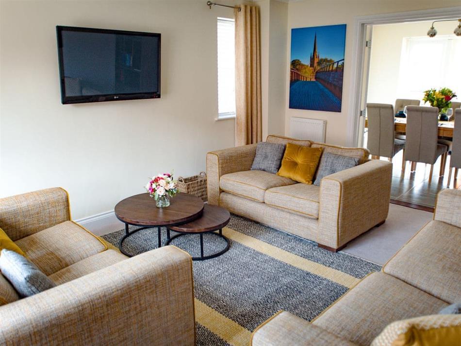 Living room in Julian's Retreat, Wroxham