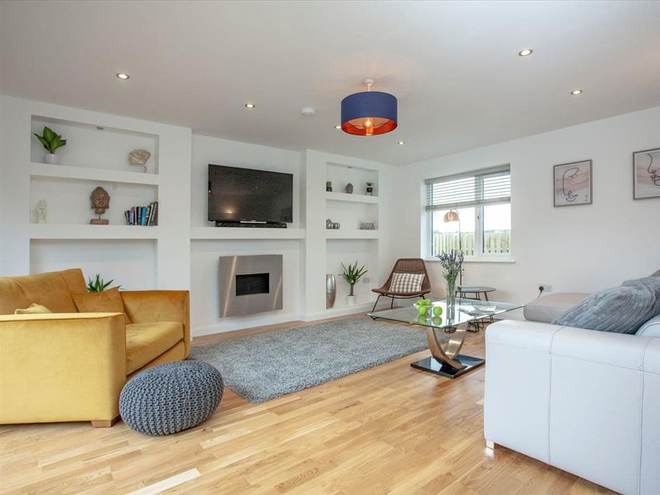 Living room in Kenwyn Villa, Truro