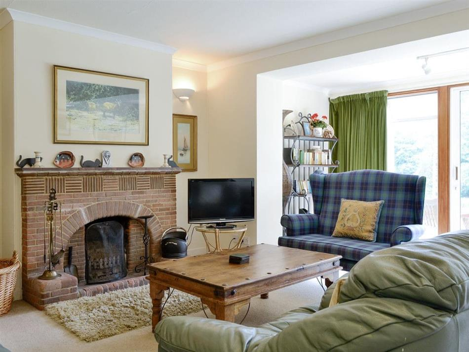 Living room in Lairds Cast, Inchmarlo, Banchory, Aberdeenshire