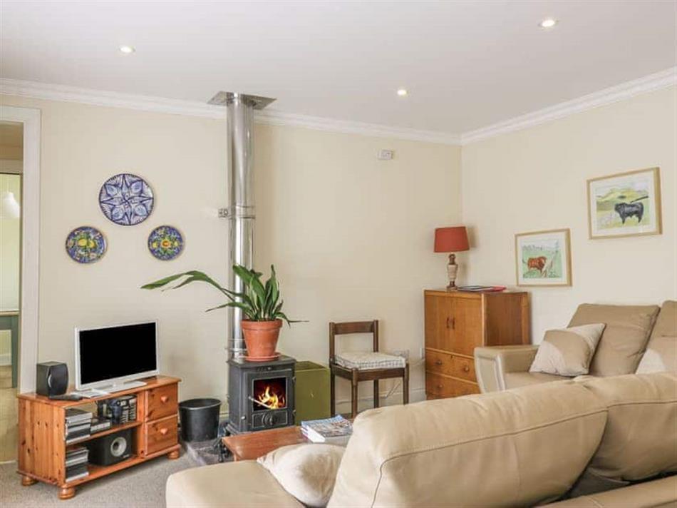 Living room in Lantonhall West Wing, Jedburgh