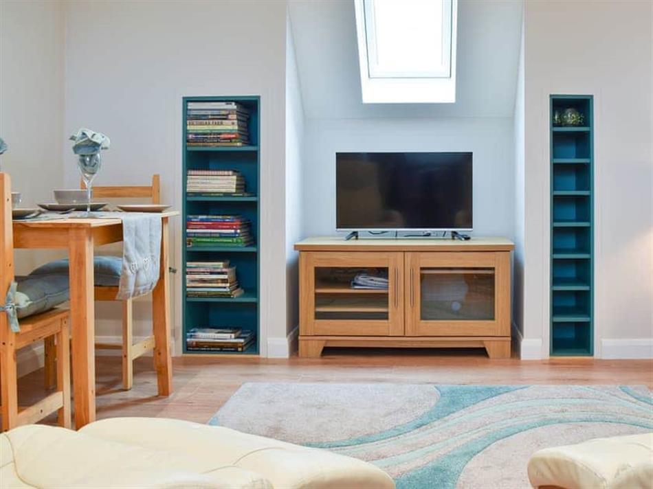 Living room in Leveret Lodge, Bures