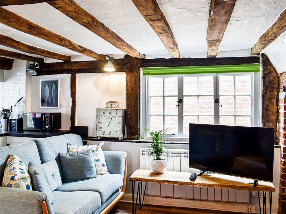 Living room in Little Cottage, Cranbrook