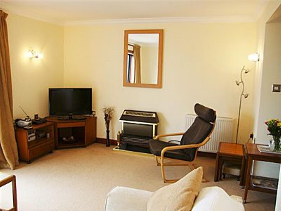 Living room in Lochryan View, Stranraer
