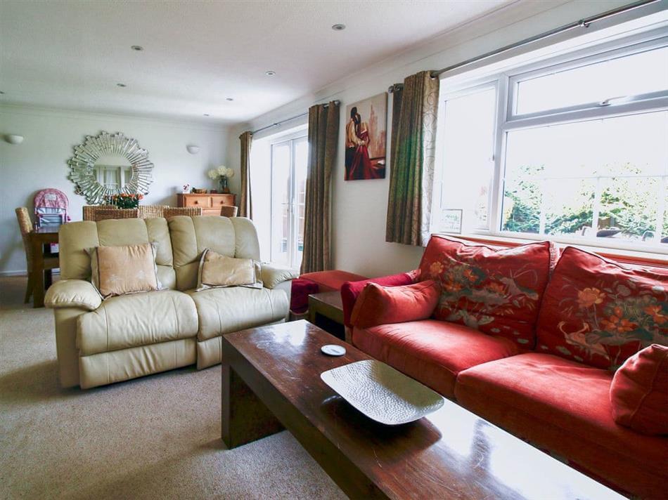 Living room in LoveKush, Banstead