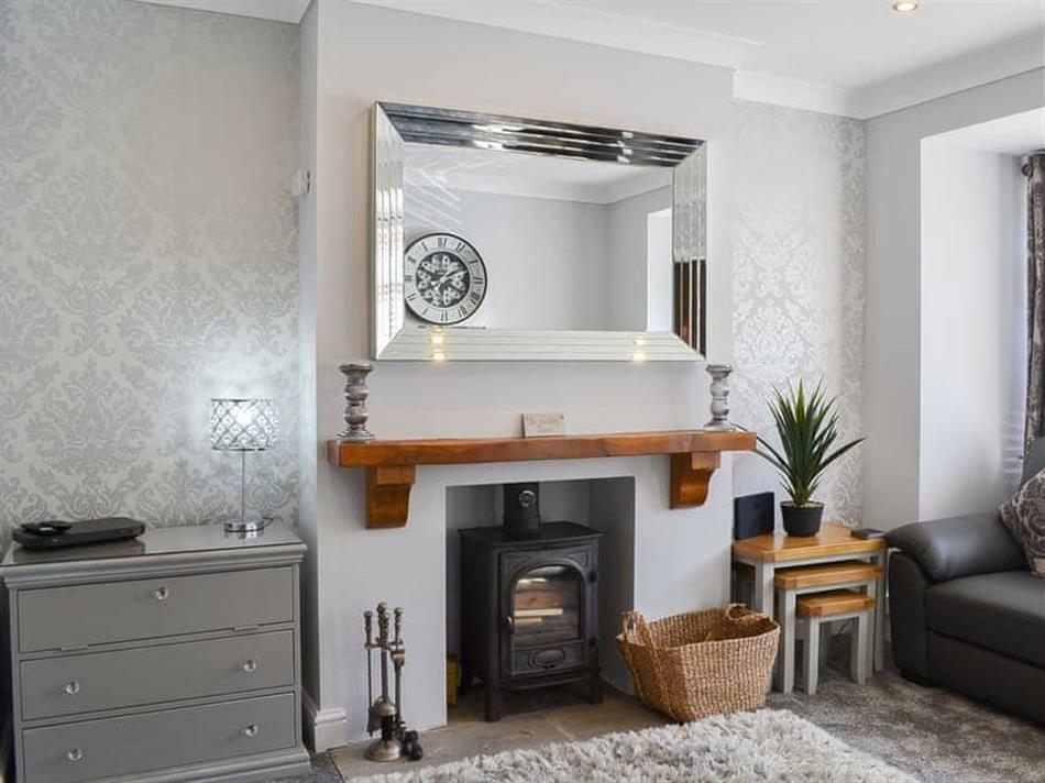 Living room in Lowey's Harbour Cottage, Bridlington
