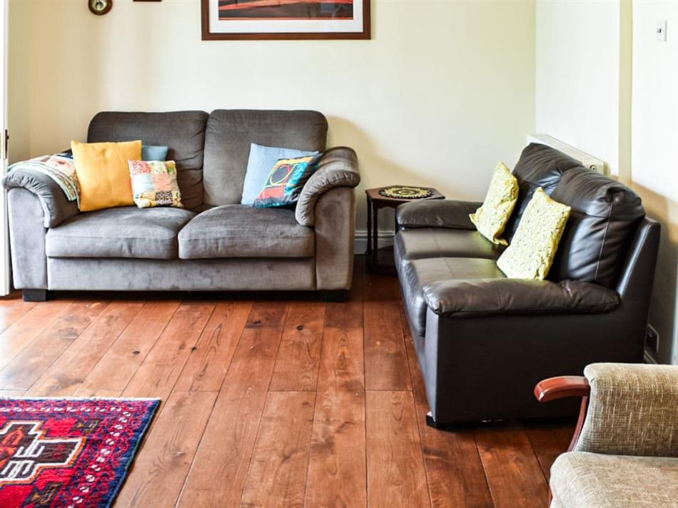 Living room in Maple Cottage, Wye Valley, Lydney