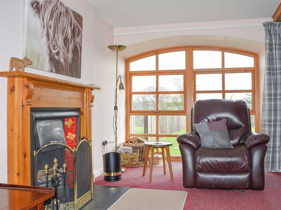 Living room in Mill Cottage,