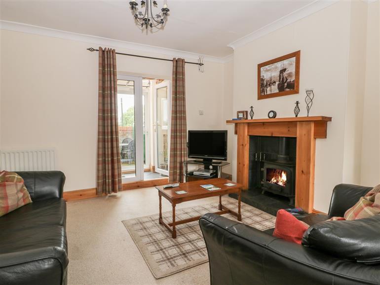 Living room in Moorview, Moorsholm