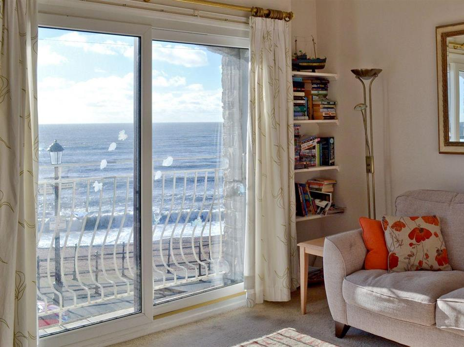 Living room in On the Beach, Ventnor