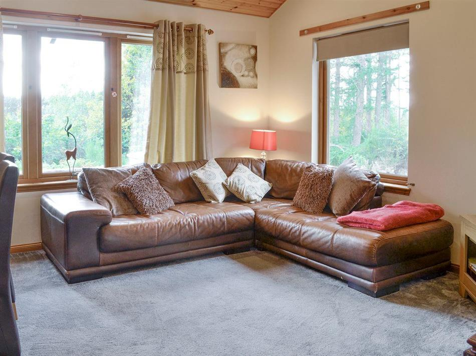 Living room in Park Lodge,