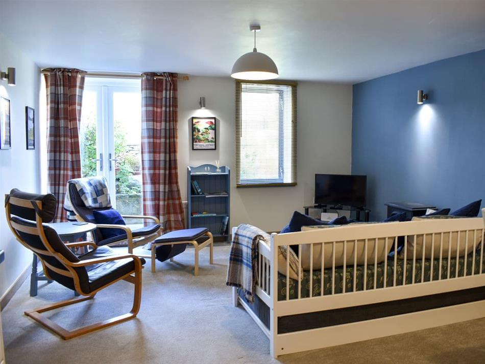 Living room in Red Gable Cottage, Shap, near Penrith