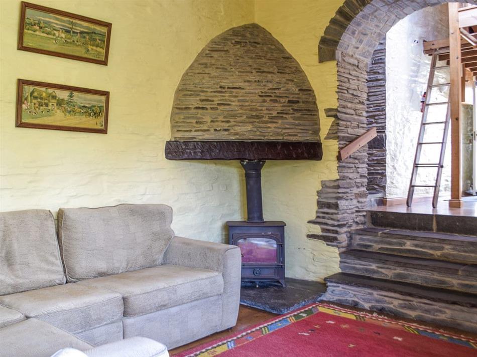 Living room in Shepherds Cottage,