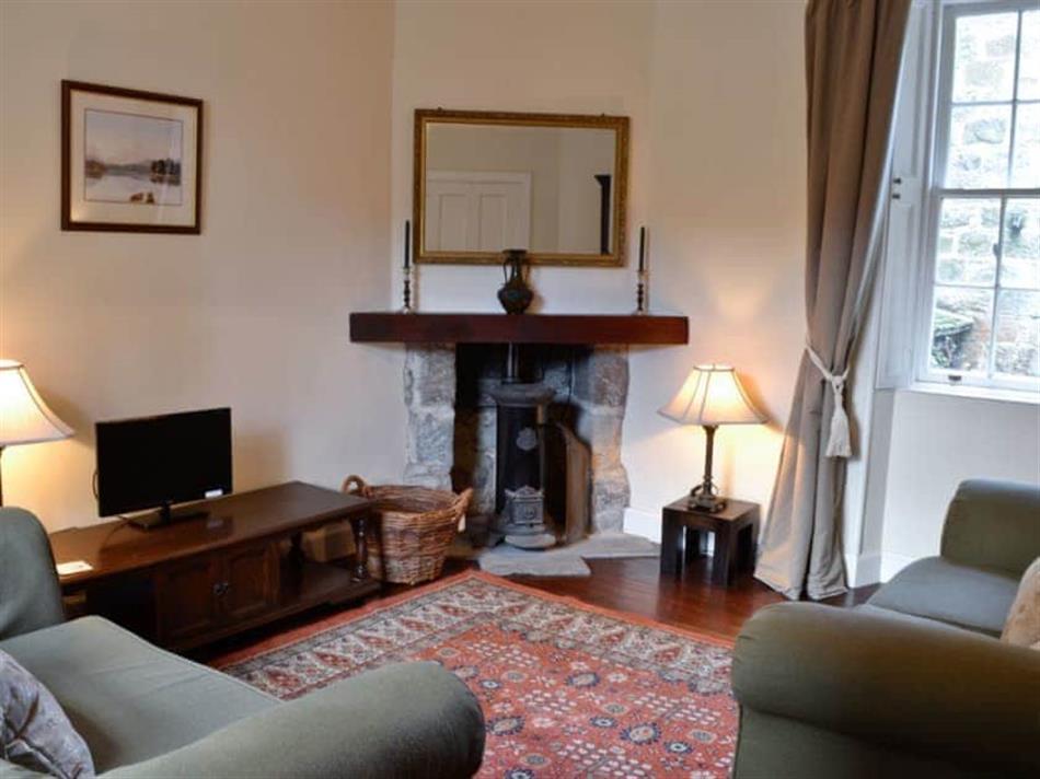 Living room in Skene House Cottage, Westhill, near Aberdeen