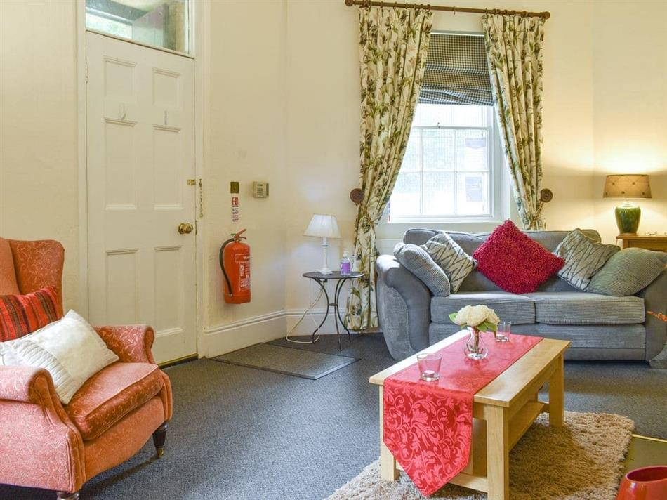 Living room in Smithy Lodge at Heaton Park, Prestwich, Manchester