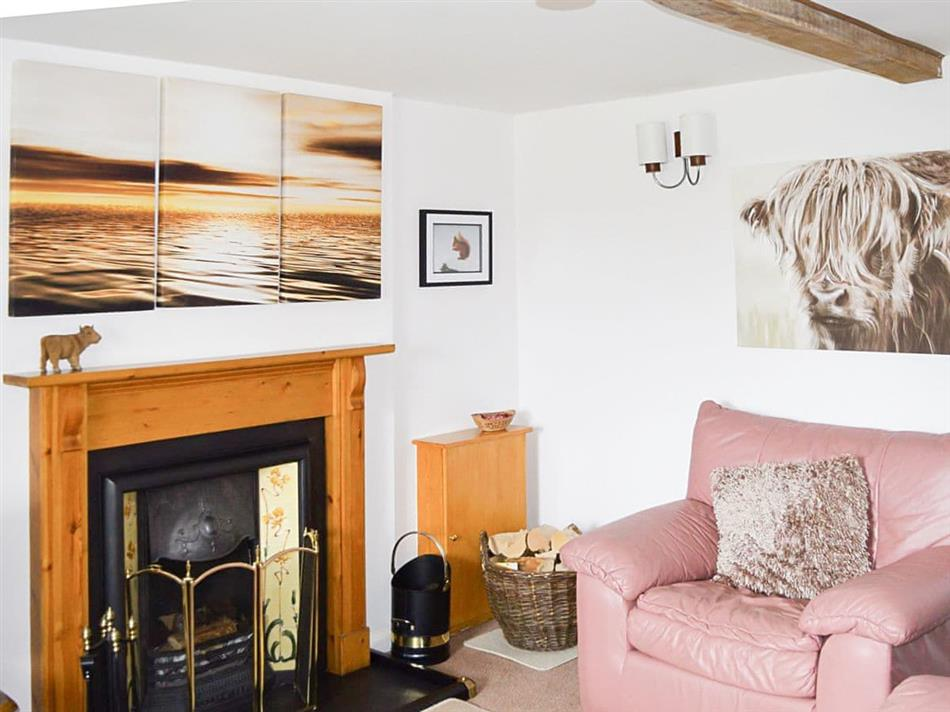 Living room in Stable Cottage,