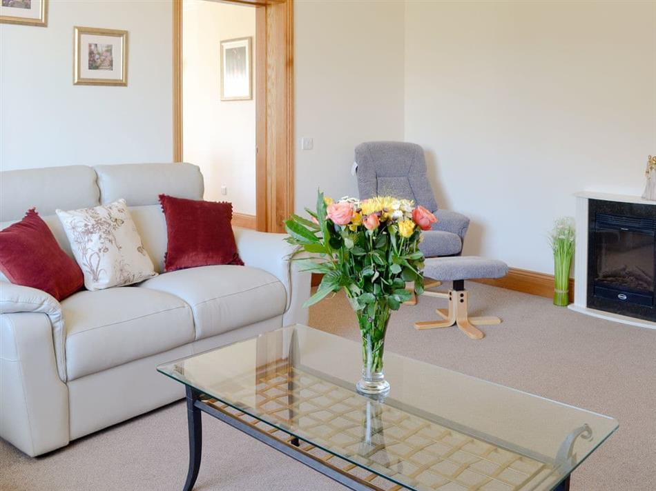 Living room in Stronvaar, Stranraer