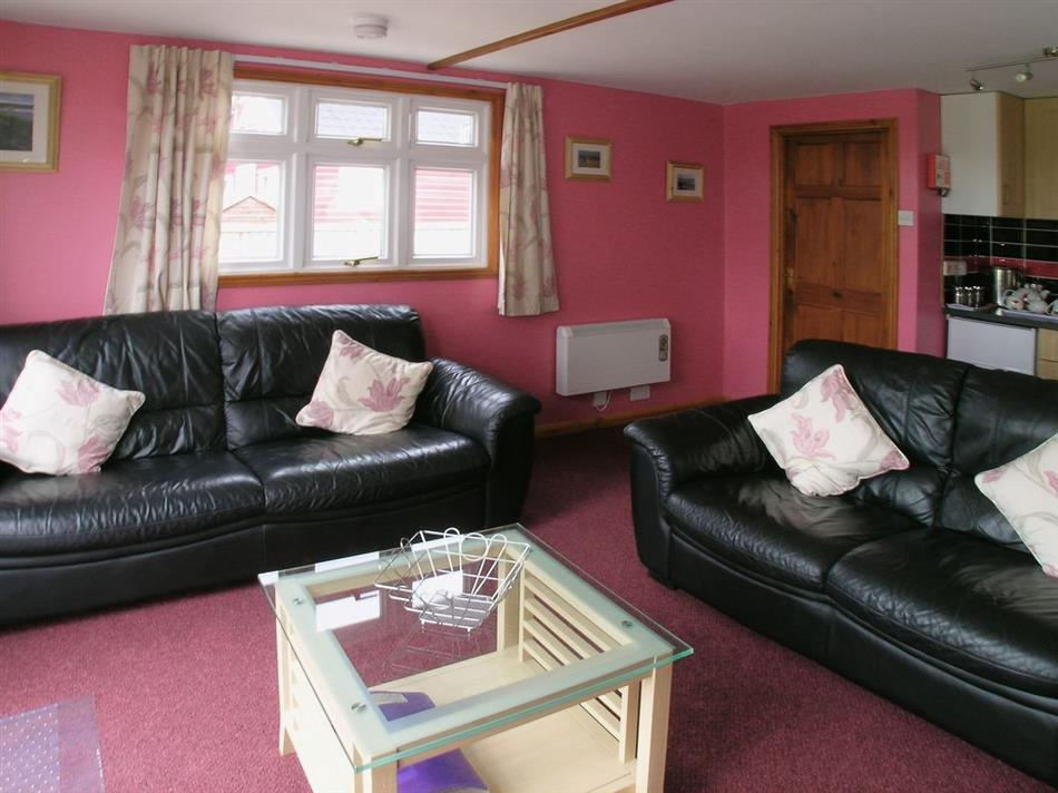 Living room in Summer Time, Brundall, near Norwich