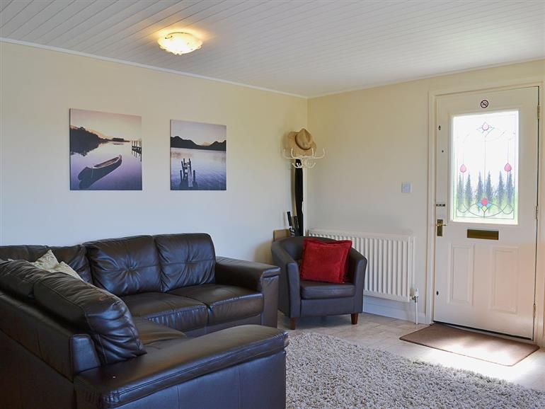 Living room in Sunset Lodge, Brundall near Norwich