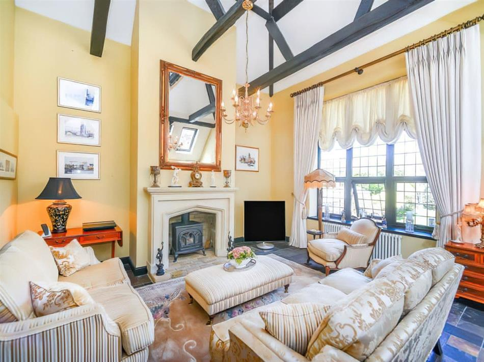 Living room in The Barn, Saltdean, near Brighton