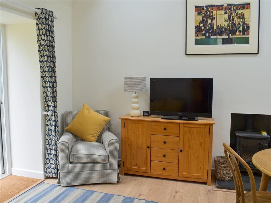 Living room in The Bothy, Ashkirk, near Selkirk