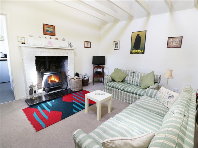 Living room in The Bothy, Glenesk near Edzell